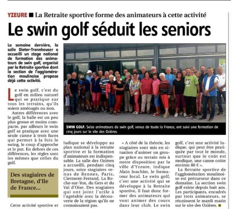 swin golf seniors