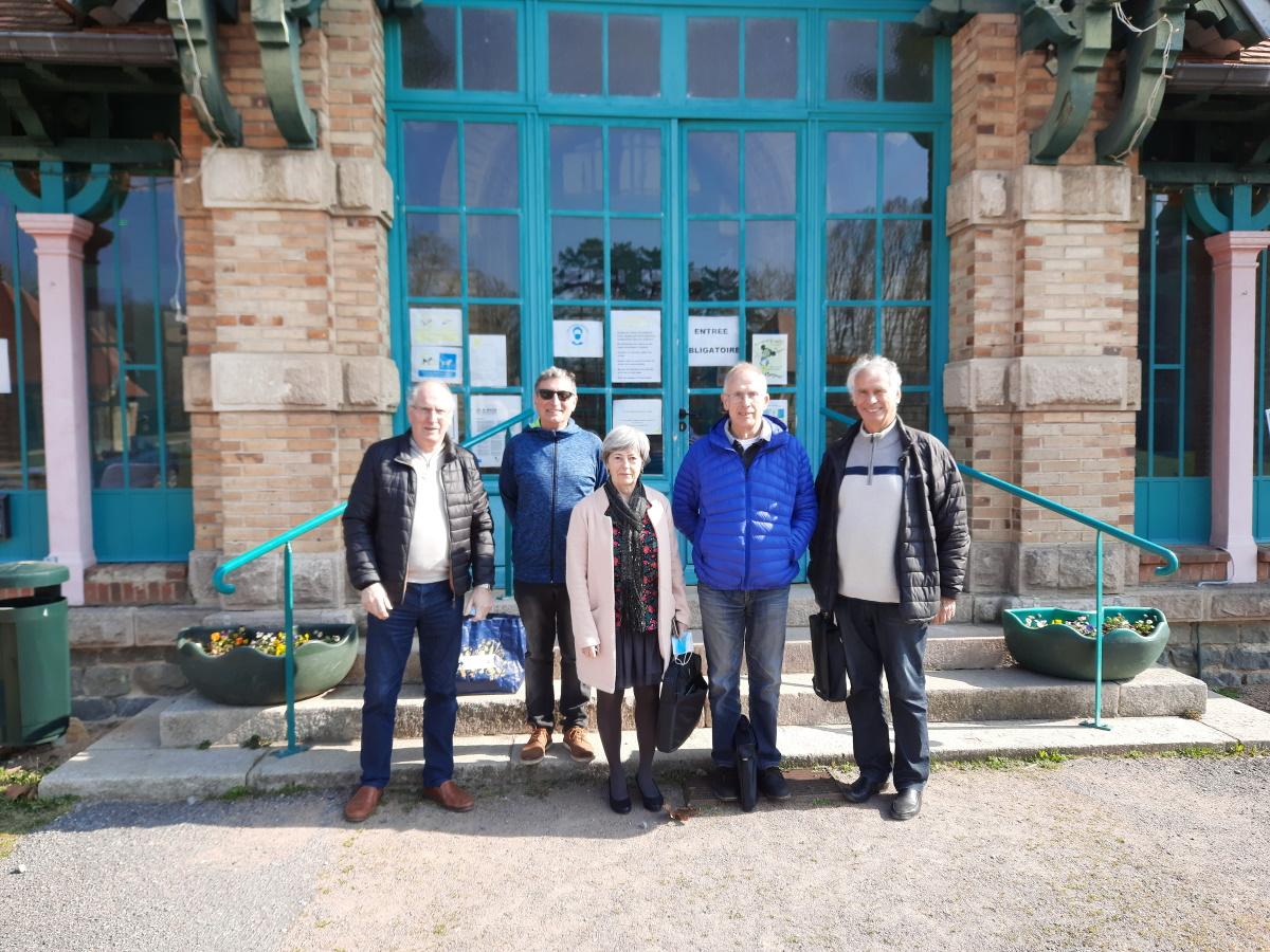 Rencontre du club de Lavault Sainte Anne