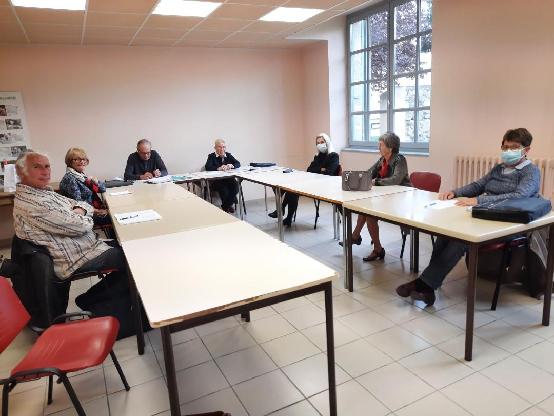Rencontre présidente CLUB d'HURIEL