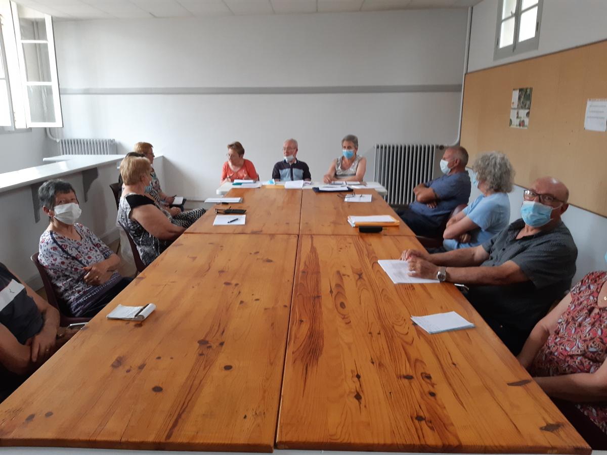 Comité directeur du club RS de Gannat