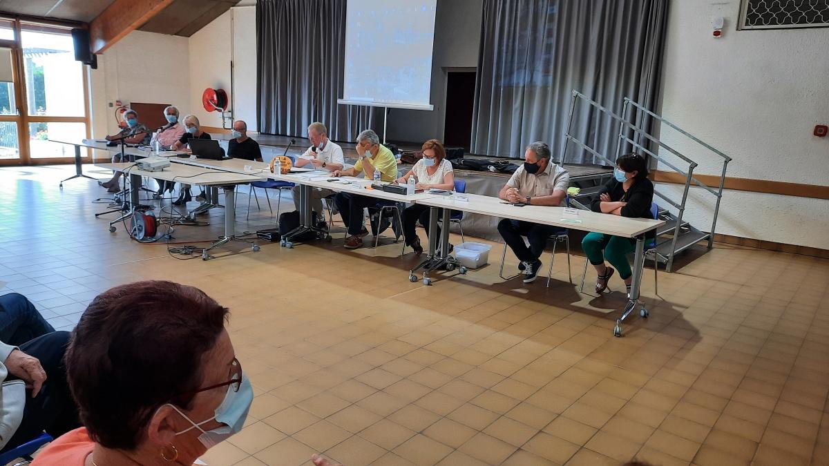 Assemblée Générale 2021 club RS Vendat, Charmeil, Saint-Rémy