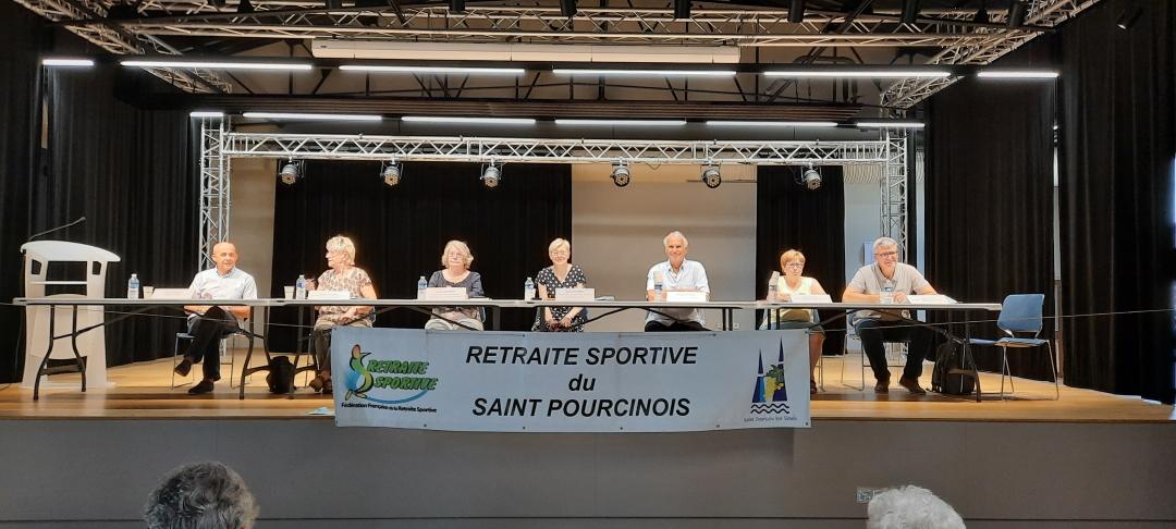 AG 2021 du club de Saint Pourçain sur Sioule