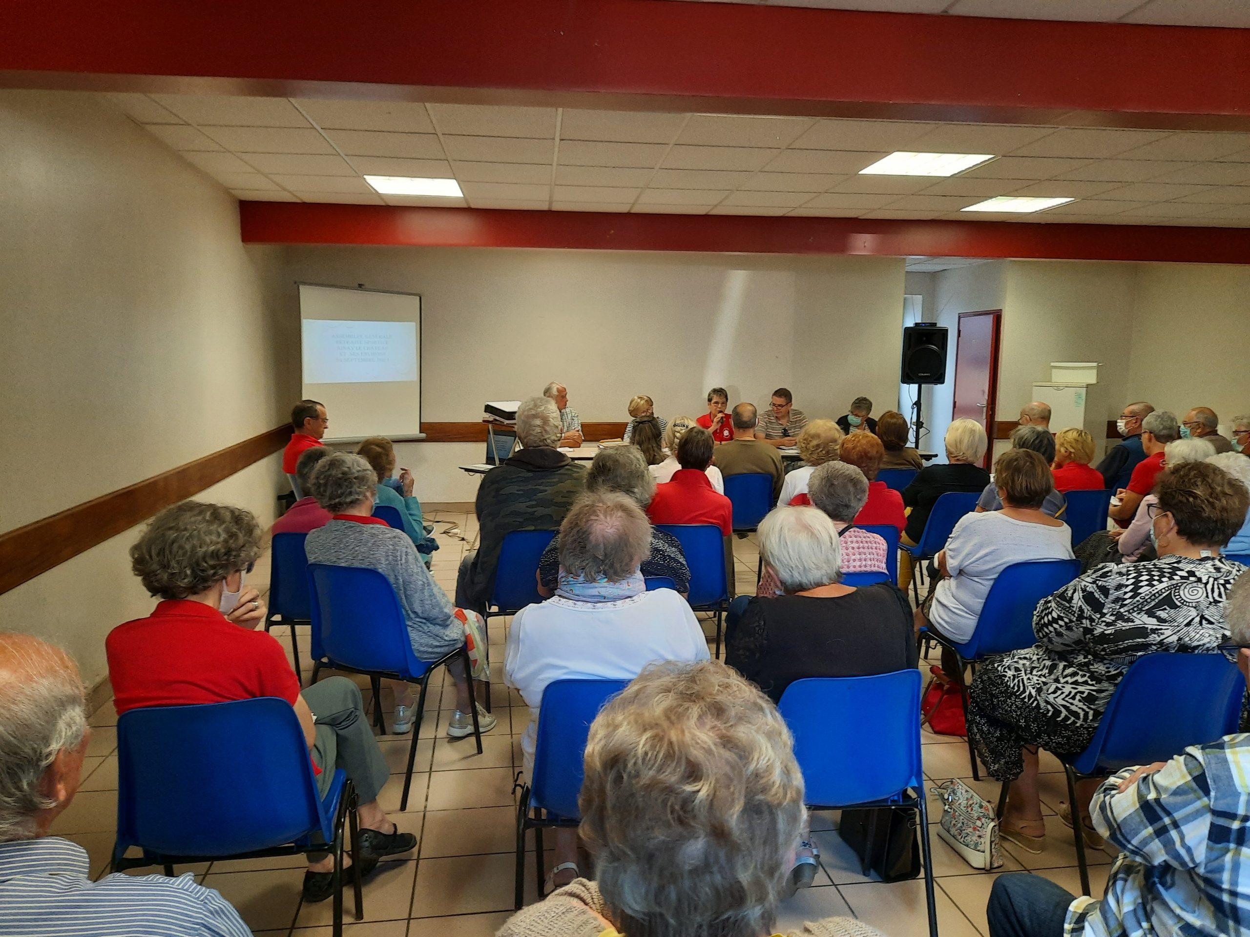 AG du club Retraite Sportive d'AINAY le château 2021