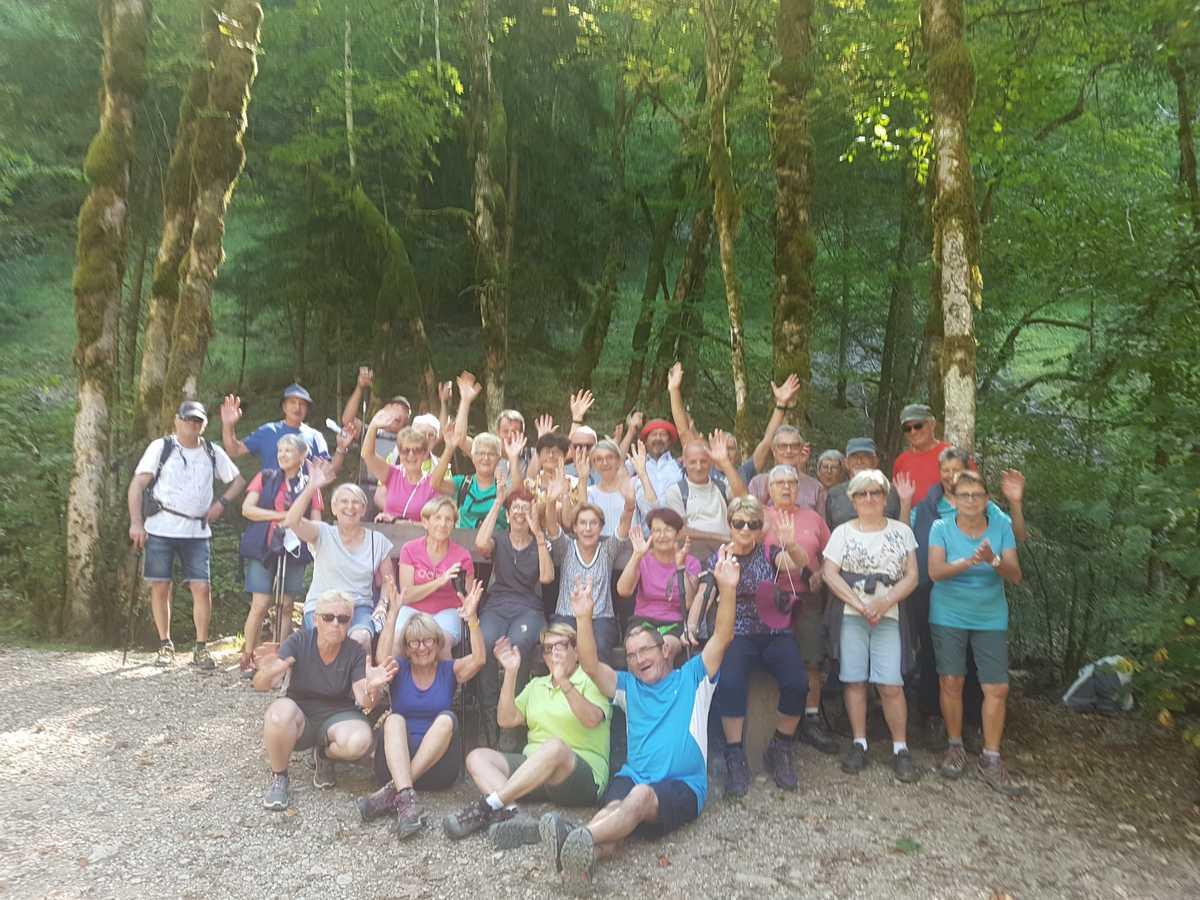 La Retraite Sportive d'Huriel dans le Jura