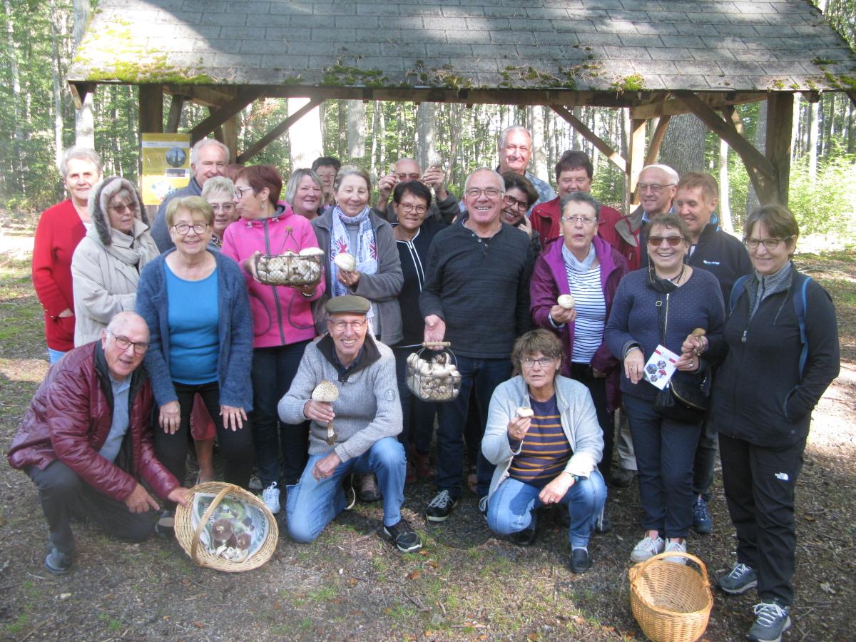 Sortie champignons club de Gannat