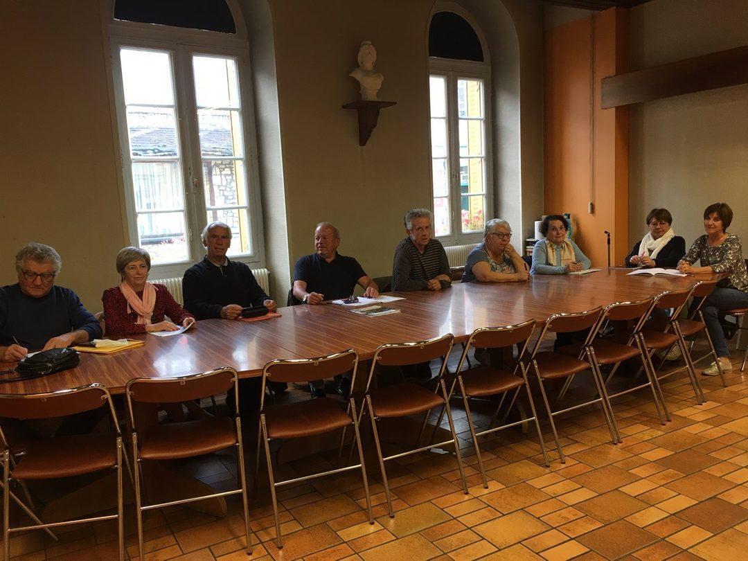 AG CLUB DE LA RETRAITE SPORTIVE COSNOIS le             8 octobre2021