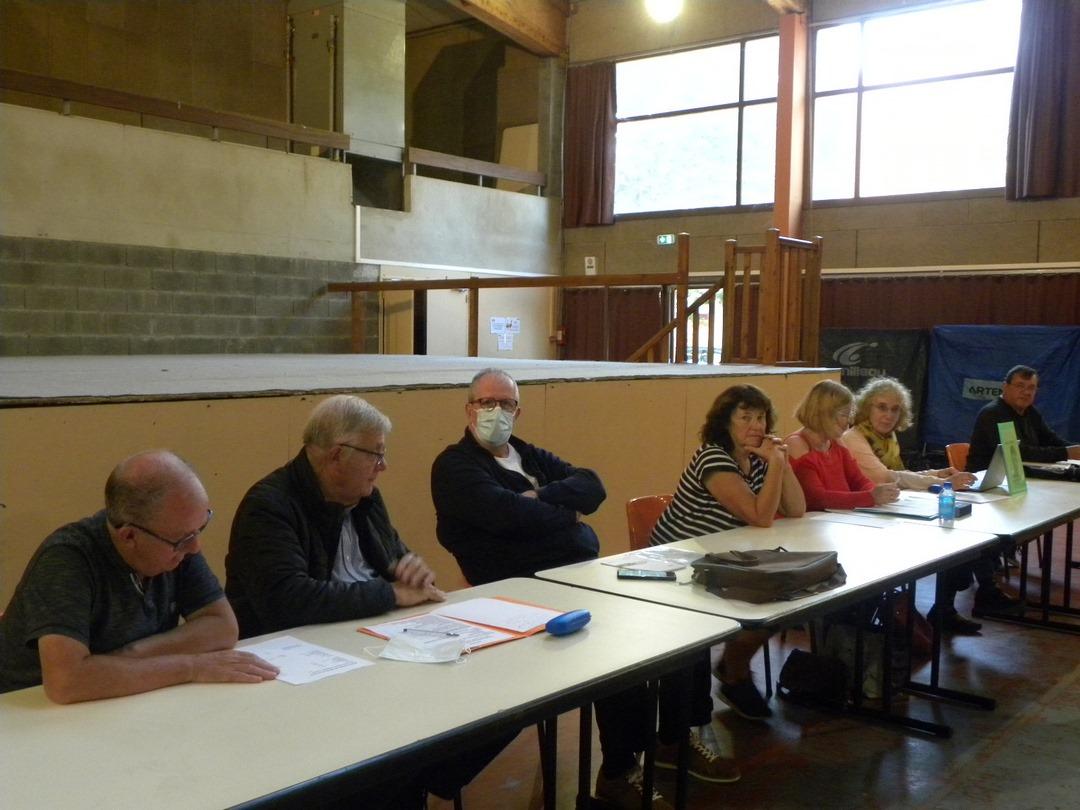 AG du club Val de Sioule le 23 septembre